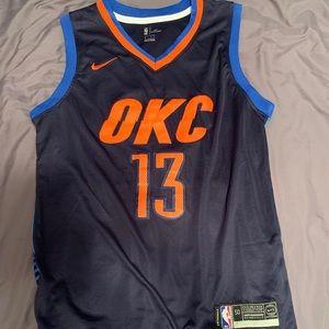 NBA OKC Thunder Paul George Jersey